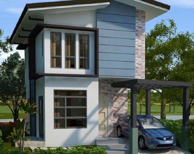 2 Lantai Type 36/72 Terbaru di 2020 | Rumah modern, Desain ...