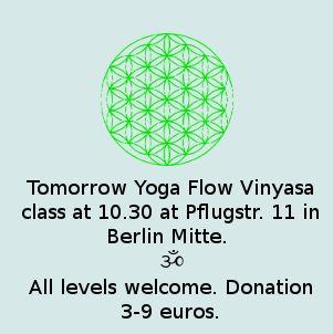 yoga vinyasa flow berlin mitte