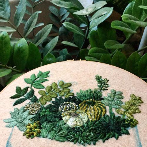 512 melhores imagens sobre Bordado Arvores e folhas no ...