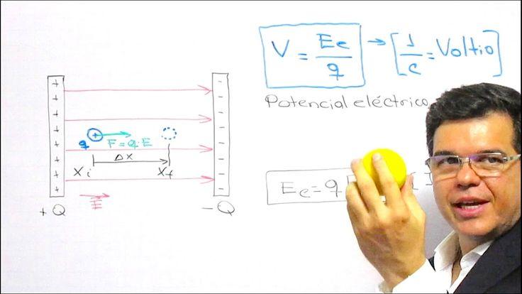 Voltaje. Diferencia de potencial eléctrico. Curso de Electricidad - Clase 7