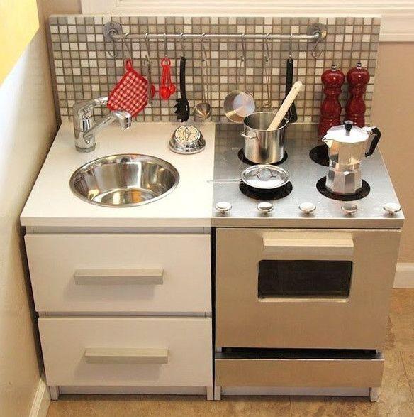 НАША СТРАНА МАСТЕРОВ: Игрушечная кухня своими руками из картона