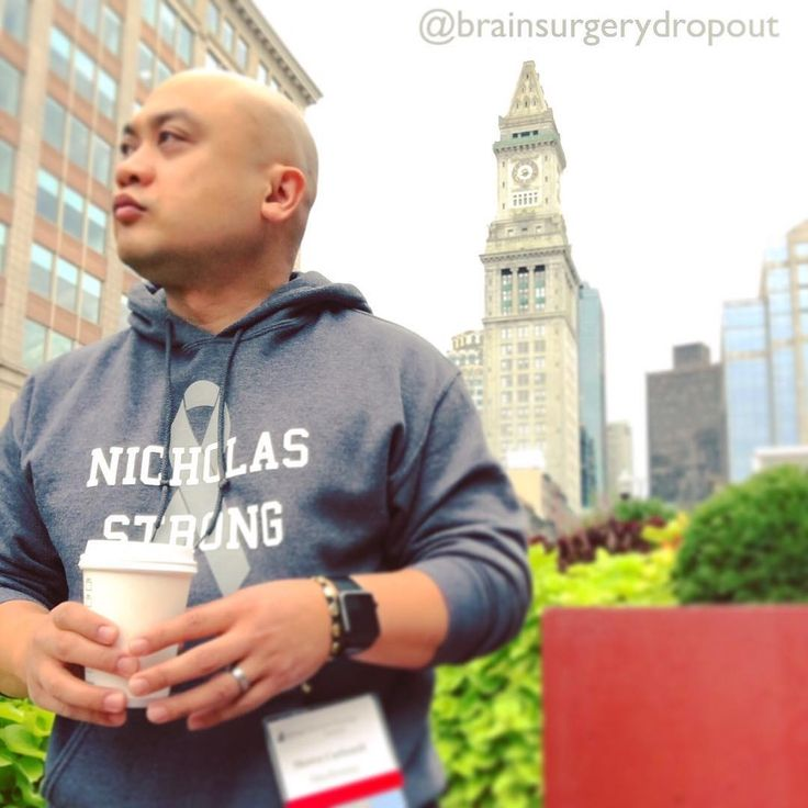 # Repping my @nicholas_strong hoody today at the #immunooncology summit. Beneath it is my @fuckglioblastoma tee obviously.  #braincancer #fuckglioblastoma #glioblastoma #gbm #glioma #cancerresearch #cancer #oncology #medicine #neurosurgery #neurology #biotechnology #startup #biotechstartup #venturecapital #startupgrind #startuplife