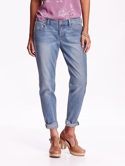 Women's Boyfriend Skinny Ankle Jeans
