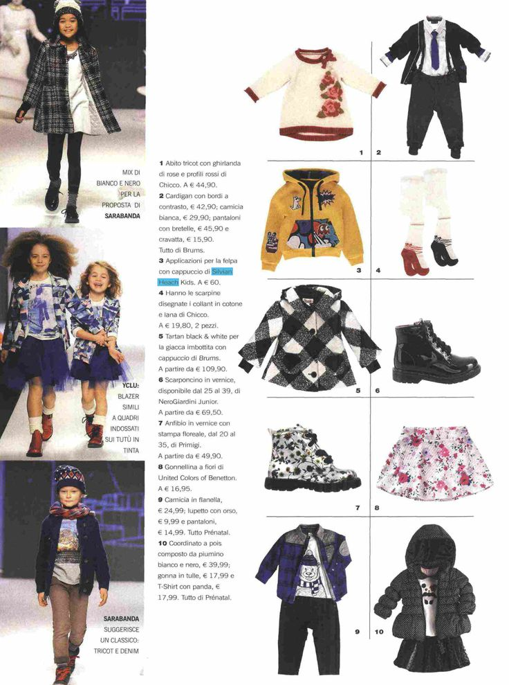 #SilvianHeachKids su #Insieme. #fashion #kids #press