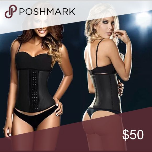Rubber Black 3 Hook Waist trainer Sport RUBBER Body Curve Thermal Heat Slimming Waist Trainer Cincher Size Black  Reduce waistline instantly (1-4 inches) with adjustable 3 hook closure Instantly have curvy waist and trimmed mid-section love handle Improve posture and gives great back support Wearing it 3 to 7 hours a day (at your own comfort) trims inches off your waist in a few weeks Great help from C-section recovery and concealing post-pregnancy weight. (Speed Recovery and increase…