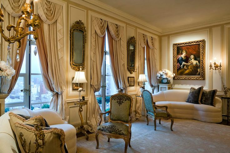 french livingrooms |  French Style Apartment Living