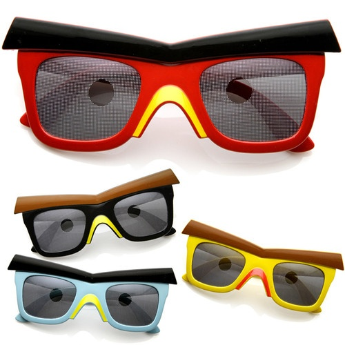 Novelty Video Game Birds Party Costume Comedy Mask Sunglasses 8625 | eBay