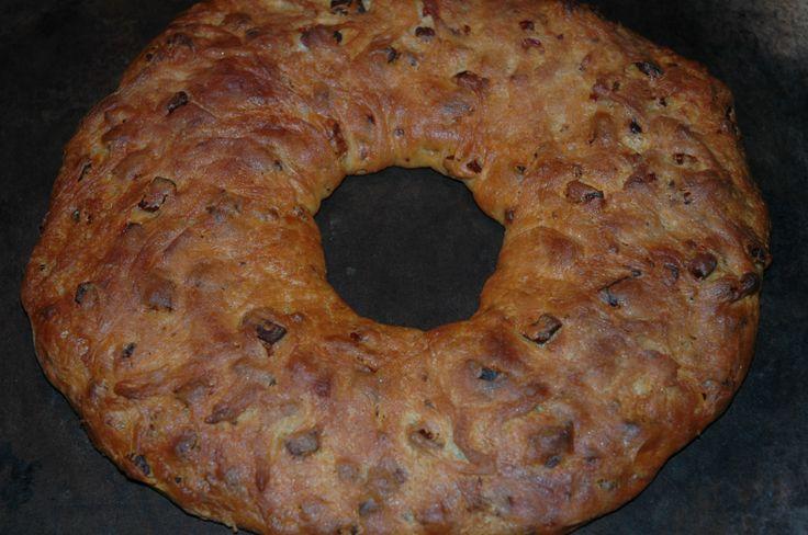 Prosciutto Bread (aka Lard Bread)