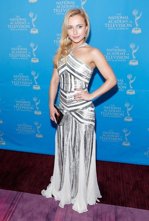Hayden Panettiere at 34th Annual Sports Emmy Awards in NY on May 7, 2013