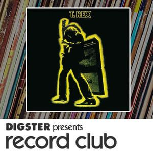 T.Rex - Electric Warrior on Record Club #christmas #gift #ideas #present #stocking #santa #music #RecordClub #records