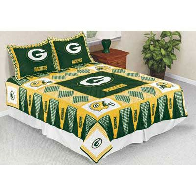 Green Bay Packers (Full/Queen Size) Quilt - The Danbury Mint