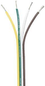 Ancor 154510 Marine Grade Electrical Flat Tinned Ribbon Boat 4-Cable Wiring (16-Gauge, 100-Feet) by Ancor. Ancor 154510 Marine Grade Electrical Flat Tinned Ribbon Boat 4-Cable Wiring (16-Gauge, 100-Feet).