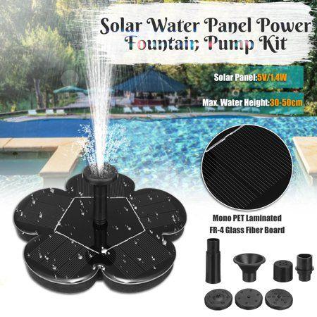 Solar Power Water Fountain Pump Solar Panel Water 400 x 300