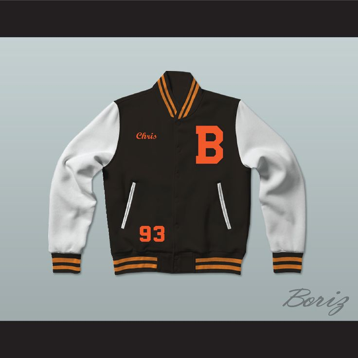 Chris Brown Black Varsity Letterman Jacket-Style Sweatshirt. STITCH SEWN GRAPHICS AND EMBROIDERED NAMESWEATSHIRT FABRIC 45% ACRYLIC 40% COTTON & 15% POLYESTERSNAP FIT BUTTONSALL SIZES AVAILABLESHIPPING TIME 3-5 WEEKS WITH ONLINE TRACKING NUMBER  Be sure to compare your measurements with a jacket that already fits you. Please consider ordering a larger size, if you prefer a loose fit. HOW TO CALCULATE CHEST SIZE: Width of your Chest plus Width of your Back plus 4 to 6 inches to account for…