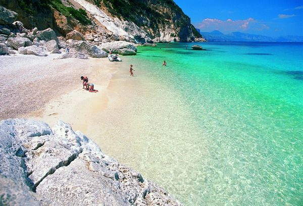 Rather be @ the beach in Sardina, Italy the second largest island in the Mediterranean Sea