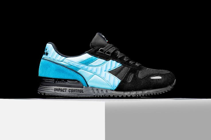 "Diadora drops the Titan II silhouette with a striking ""Black Sea"" colorway, in an appropriate undertaking for the Italian footwear brand to bring the often-neglected Titan II into the spotlight. Featu..."