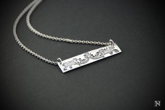 Modern artisan pendant