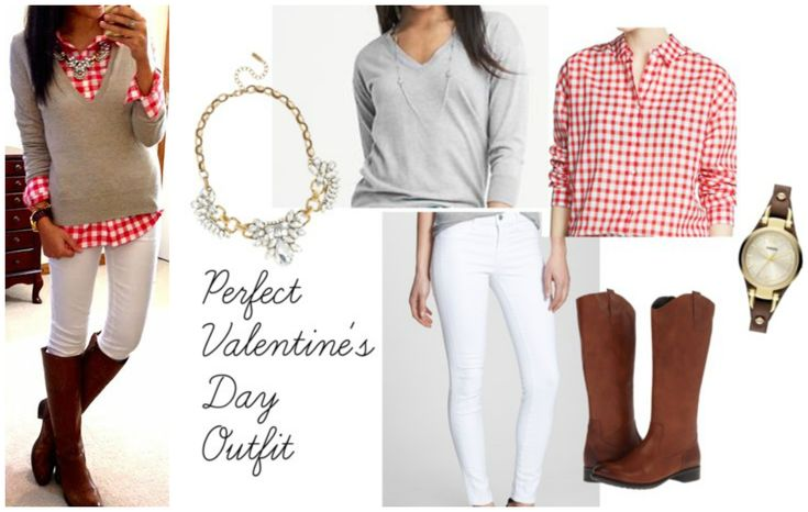 PERFECT Casual Valentineu0026#39;s Day Outfit! | Get Your Pretty On | Outfits + Style | Pinterest | Chic ...