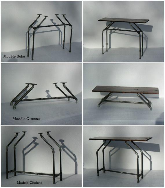 best 25 tube acier ideas only on pinterest tube. Black Bedroom Furniture Sets. Home Design Ideas