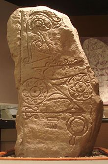 Pictish stones are monumental stelae found in Scotland, mostly north of the Clyde-Forth line, and on the Eastern side of the country. These stones are the most visible remaining evidence of the Picts and are thought to date from the 6th to 9th centuries, a period during which the Picts became Christianized. The earlier stones have few surviving parallels from the rest of the British Isles, but the later forms are variations within a wider Insular tradition of monumental stones such as high…