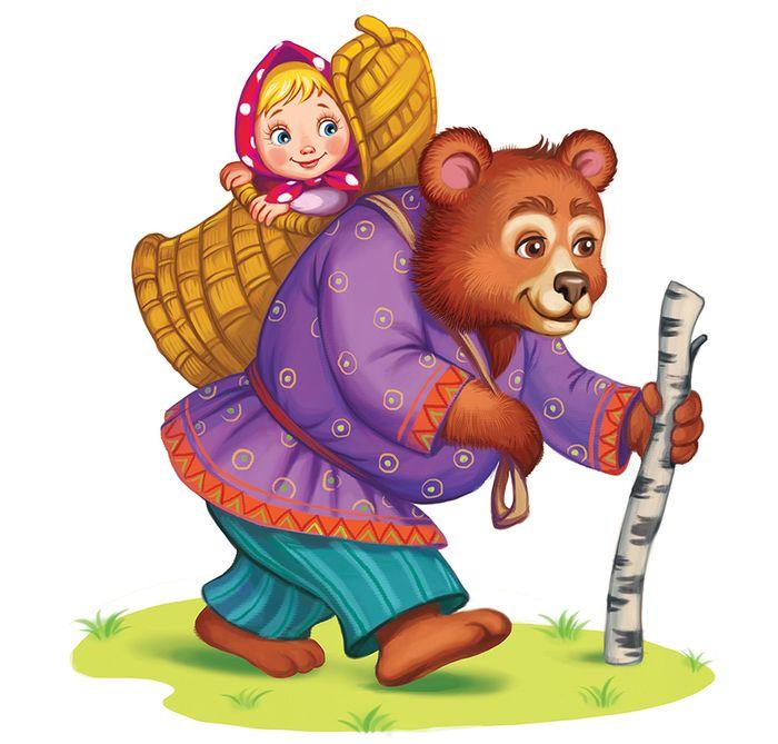 Смешных, сказка маша и медведь картинки анимации