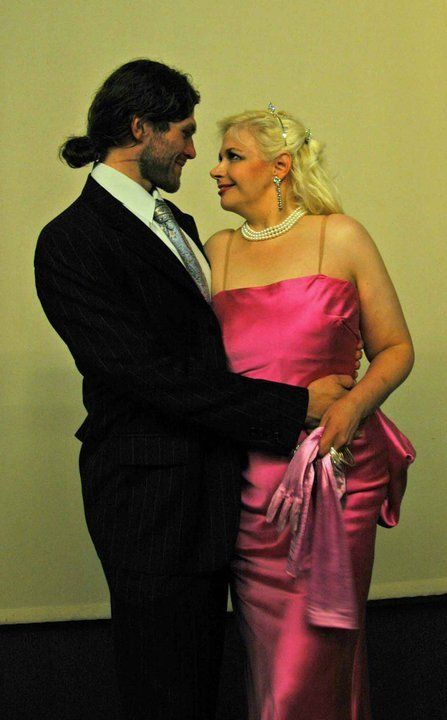 """Me dressed as Marilyn (right;)) in a photo shoot for the Finnish Magazine """"Seiska"""" 5/2010."""