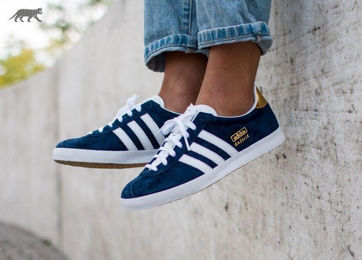 Adidas Gazelle Weiß Blau