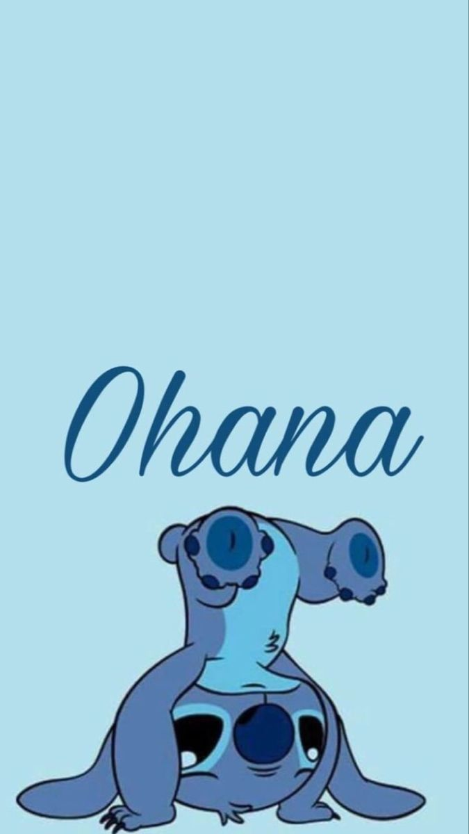 Stitch Ohana Cute Disney Wallpaper Stitch Drawing Lelo And Stitch