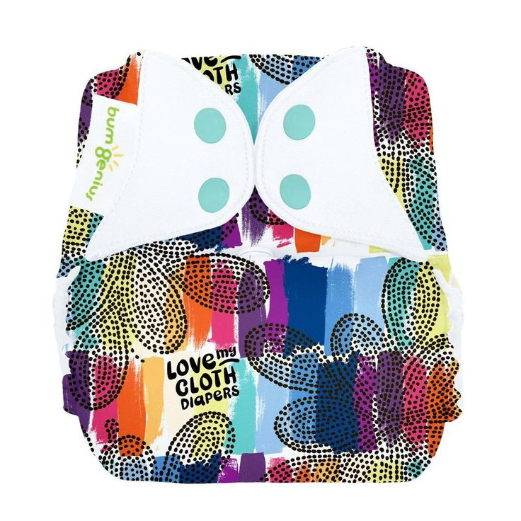 bumGenius Freetime { all‐in‐one cloth diaper }  Diaper your baby in one easy step. Our one-piece, one‐size design features adjustable absorbency and a stay‐dry inner lining. Less time diapering equals more free time for you.           Look for our unique butterfly closure system to ensure that you are getting genuine Cotton Babies™ brand cloth diapers         Oeko‐Tex Standard 100 certification indicates that bumGenius diapers have been stringently tested and are free from harmful or pro...
