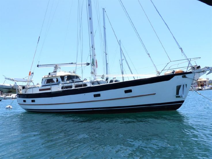 +++1981 Cheoy Lee 43 Pilothouse in California Boat