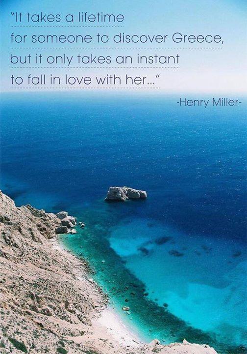 Henry Miller for Greece ~