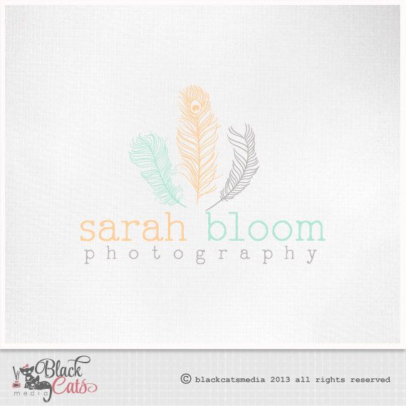 Hey, I found this really awesome Etsy listing at https://www.etsy.com/listing/161539083/photography-logo-feathers-eps-file-and