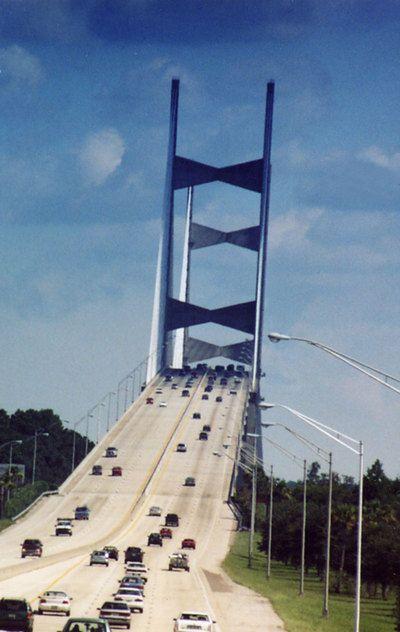 Jacksonville, Florida | Jacksonville, FL : Just Northeast of downtown Jacksonville, FL photo ...The Dames Point Bridge