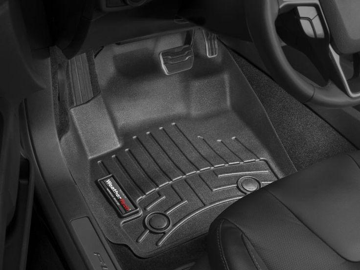 WeatherTech 2011-2014 Chevrolet Cruze Front FloorLiner Mats - Black