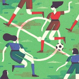 """""""Researchers at the University of Exeter in the U.K. asked a group of otherwise sedentary women with mild to moderate high blood pressure to play soccer three times a week. The activity significantly improved several cardiovascular risk factors and endurance in the women, according to the study, published in the August issue of the Scandinavian Journal of Medicine & Science in Sports.""""  For more news, information and photos follow Team Sports."""