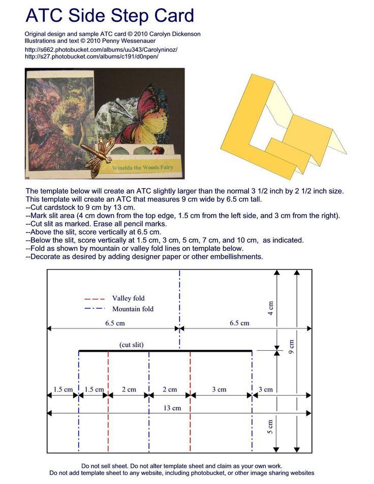 799 best Cards templates  Patterns images on Pinterest Scrapbook