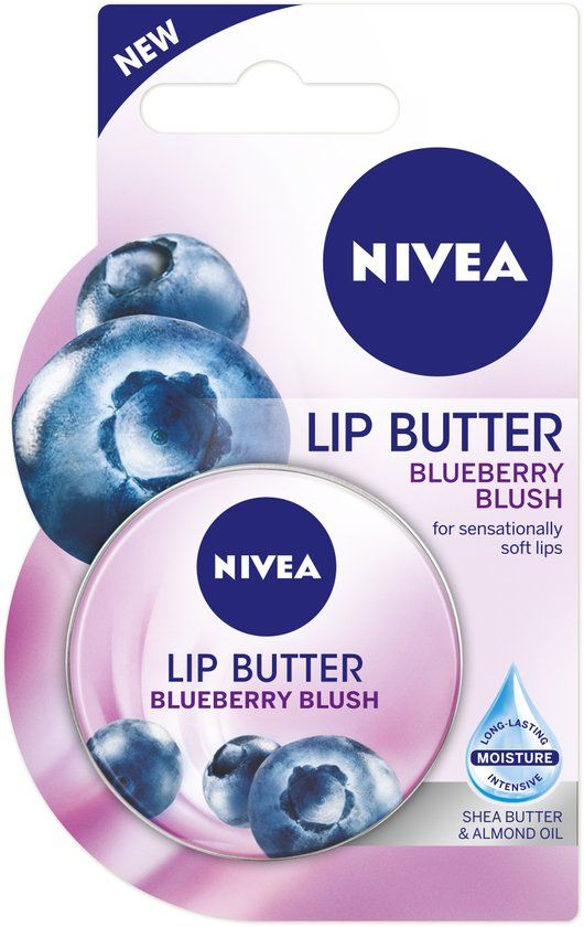 NIVEA Lip Butter Blueberry Blush