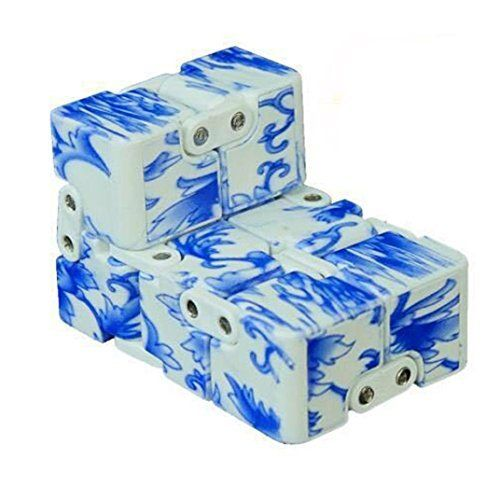 infinity cube amazon. 2017 pop style fidget tri spinner luxury infinity mini cube finger spin stress hand desk edc amazon i