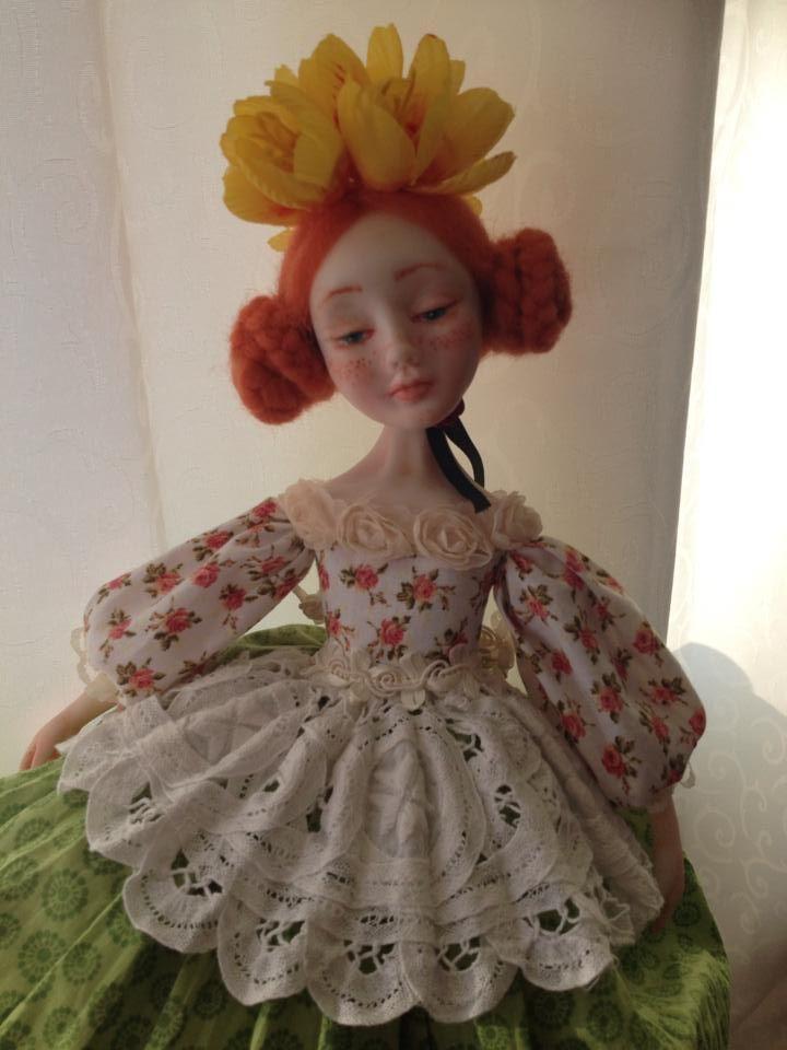 Hand made doll. Fimo Puppen by Vafa