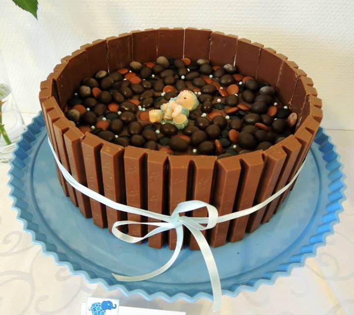 Snekkerfrue: Kvikklunsj-kake