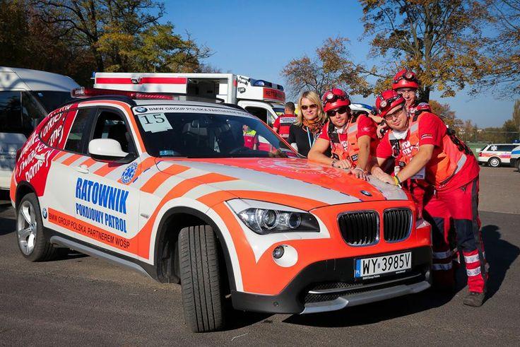 Reprezentacja Medycznego Patrolu na I Międzynarodowych Mistrzostwach Ziemi Lubuskiej w Ratownictwie Medycznym.