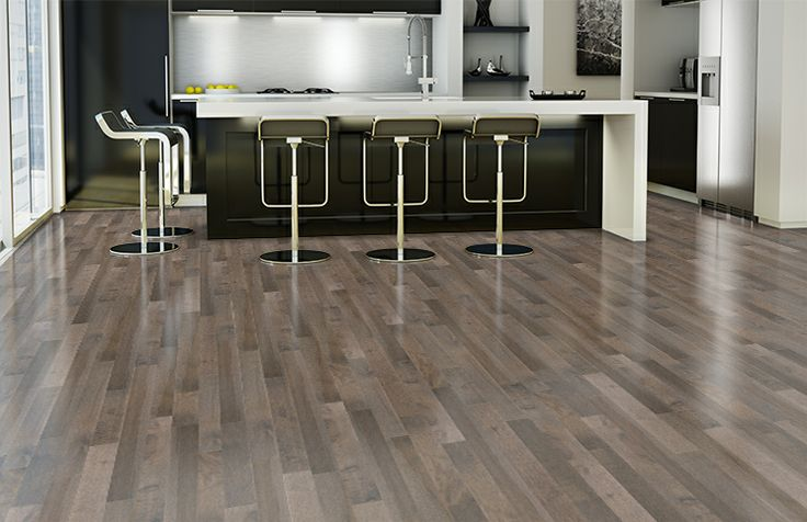 smoky grey essential hard maple essential lauzon hardwood flooring grey hardwood floors grey hardwood and modern - Grey Hardwood Floors