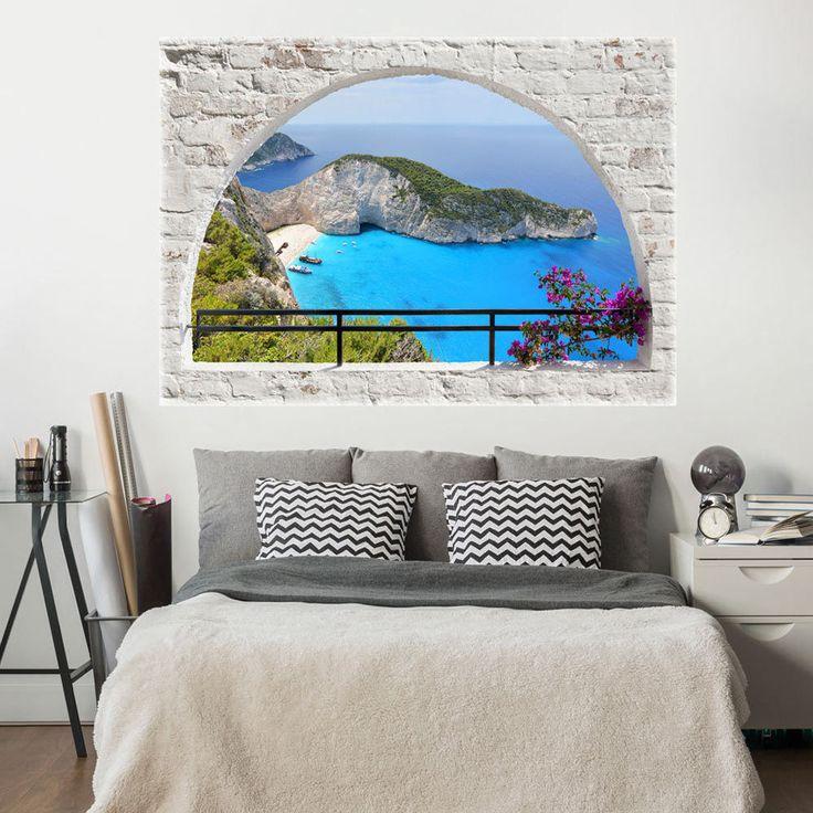 Die besten 25+ Fototapete 3d Ideen auf Pinterest 3d wandbilder - garten eden schlafzimmer design