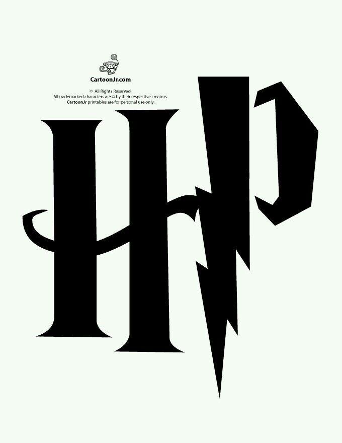 Harry Potter Stencil Harry Potter Pinterest Harry