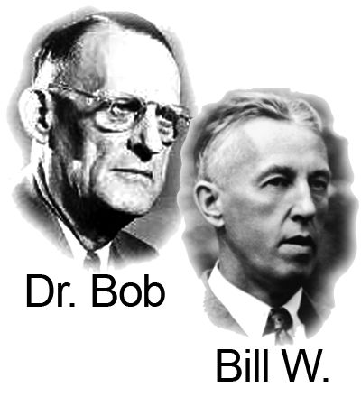 Dr. Bob and Bill W. thankyou for the work you did to help the world with addiction