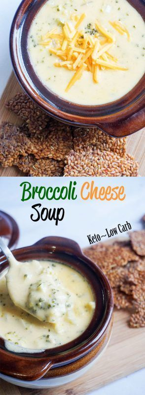Keto Broccoli Cheese soup made simple! Low carb comfort food!