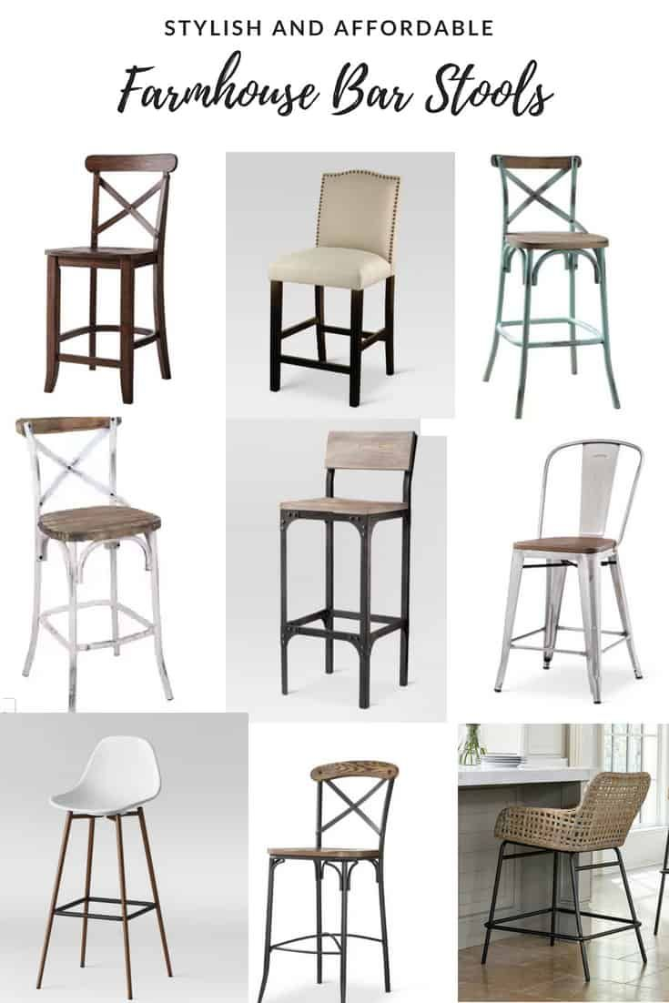 Budget Friendly Farmhouse Style Bar Stools With Backs Farmhouse Style Bar Stools Farmhouse Bar Stools Kitchen Stools With Back