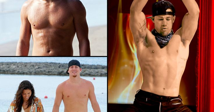 Totally Tatum! Take a look back at Channing Tatum's hottest shirtless moments through the years.
