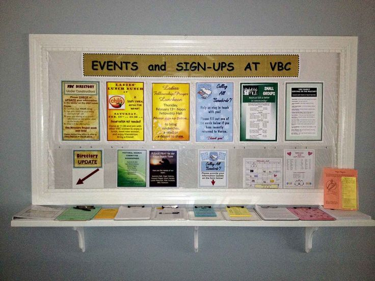 Ideas For Announcement Boards : Sleeve bulletin boards and google on pinterest