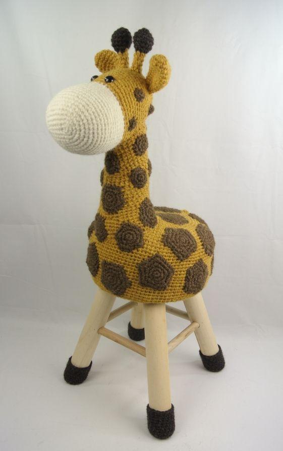 Dieren kruk haken giraffe